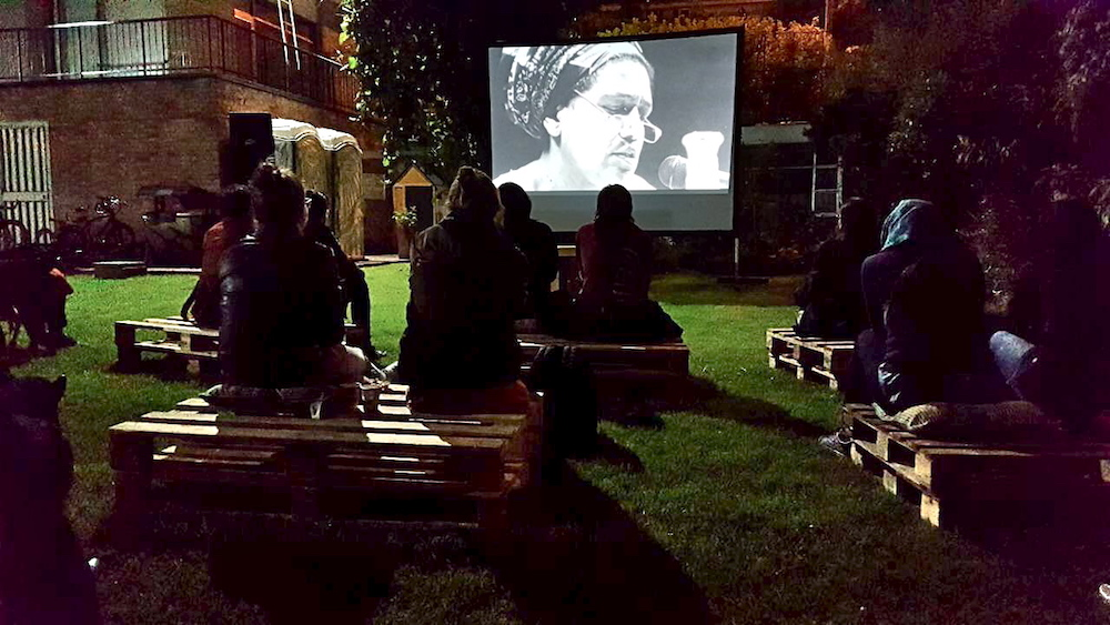 Bogota open air screening