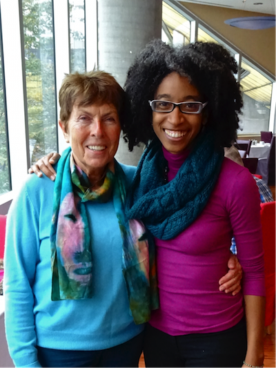 Dagmar and Dr. Alexis Pauline Gumbs in Victoria Oct. 16