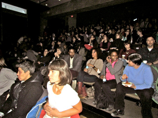 Audience members at the University of Toronto