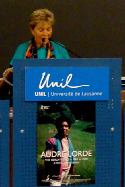 Dagmar Schultz at the University of Lausanne