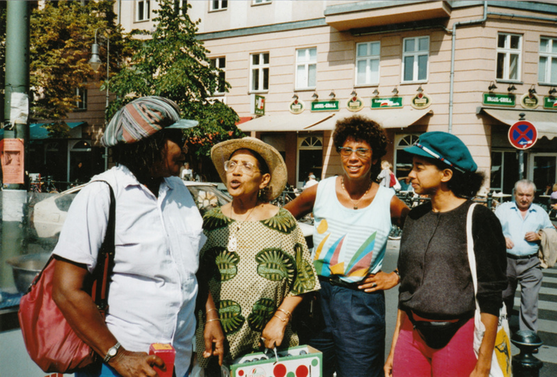 Gloria Joseph, Audre Lorde, Ika Hügel-MArshall, May Ayim